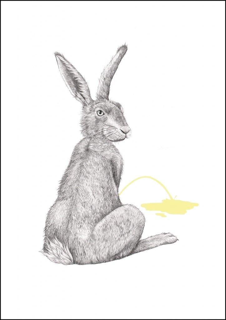 Haren med RAMME