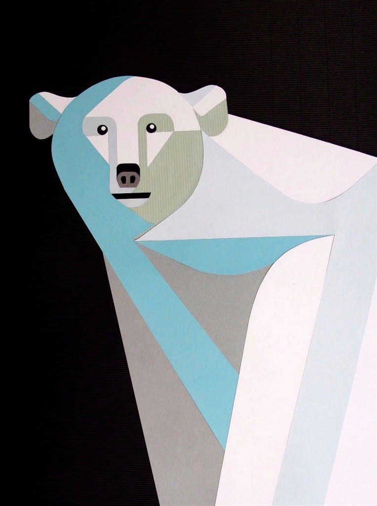 Isbjørn plakat